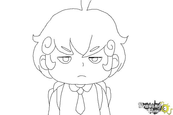 How to Draw Cardamon from Bee And Puppycat - Step 8