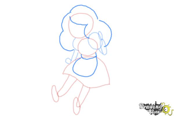 How to Draw Bee from Bee And Puppycat - Step 5
