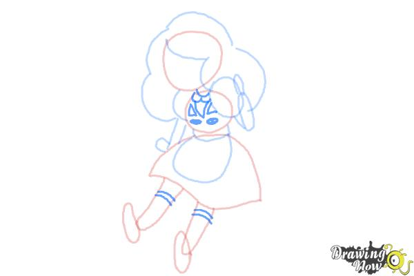 How to Draw Bee from Bee And Puppycat - Step 6