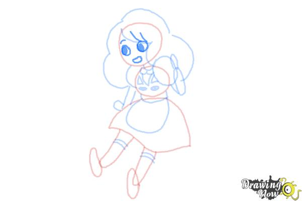 How to Draw Bee from Bee And Puppycat - Step 7