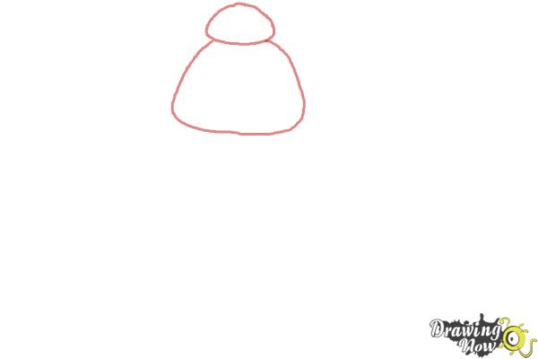 How to Draw Baymax Easy - Step 1