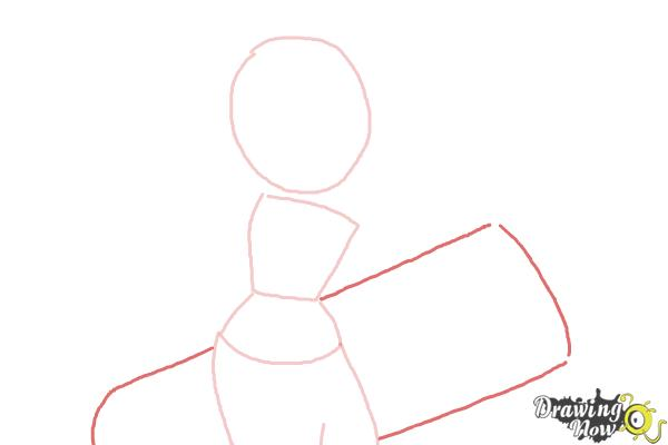 How to Draw Tricky from Subway Surfers - Step 3