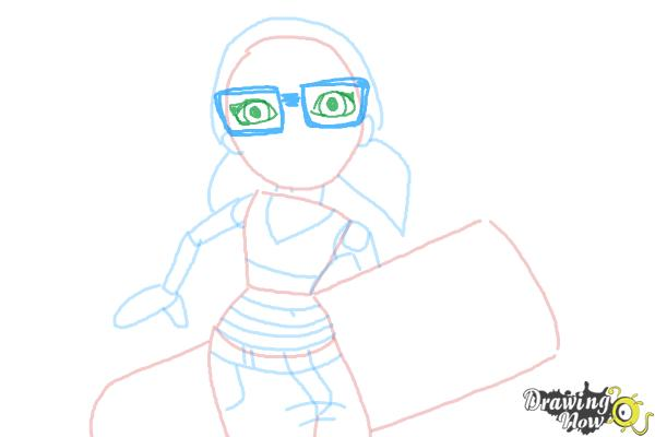 How to Draw Tricky from Subway Surfers - Step 7