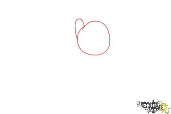 How to Draw Rainbow Dash, Zapp from Power Ponies - Step 1