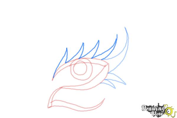 How to Draw a Tribal Eye - Step 5