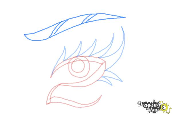 How to Draw a Tribal Eye - Step 6