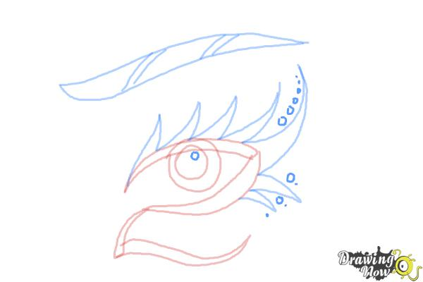 How to Draw a Tribal Eye - Step 7