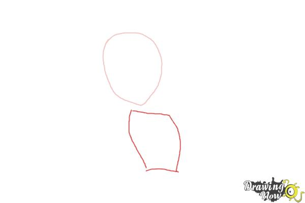How to Draw Amanita Nightshade from Monster High - Step 2