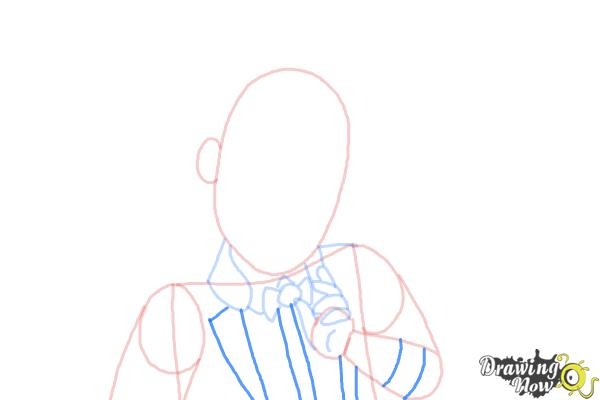 How to Draw Gus Crumb, Son Of Gretel from Ever After High - Step 6