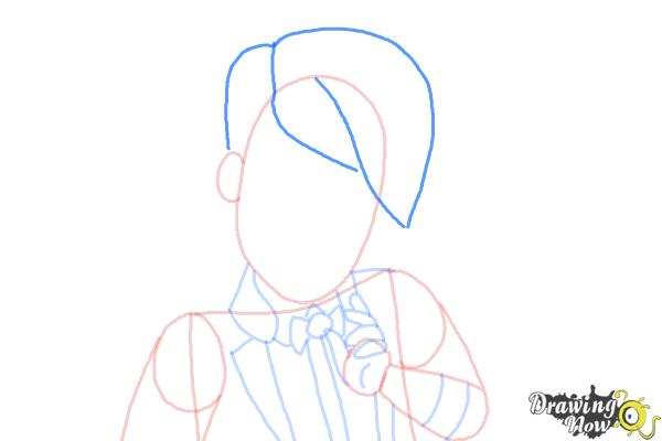 How to Draw Gus Crumb, Son Of Gretel from Ever After High - Step 7