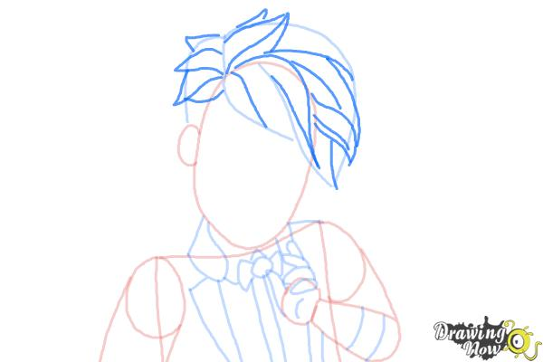 How to Draw Gus Crumb, Son Of Gretel from Ever After High - Step 8