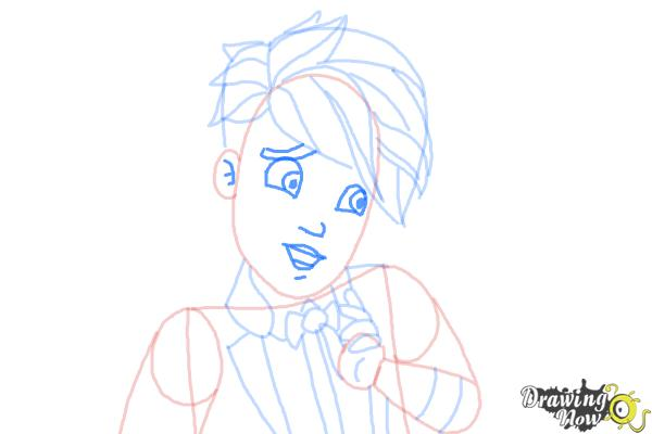 How to Draw Gus Crumb, Son Of Gretel from Ever After High - Step 9