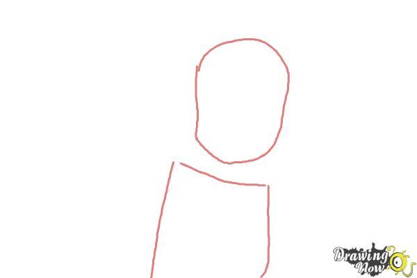 How to Draw Zakuro Fujiwara from Tokyo Mew Mew - Step 1