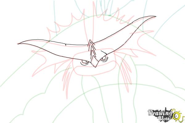 How to Draw Cloudjumper from How to Train Your Dragon 2 - Step 6