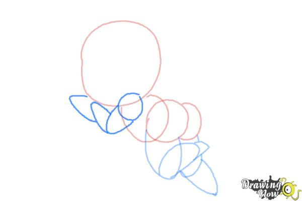 How to Draw Chibi Cupid - Step 5