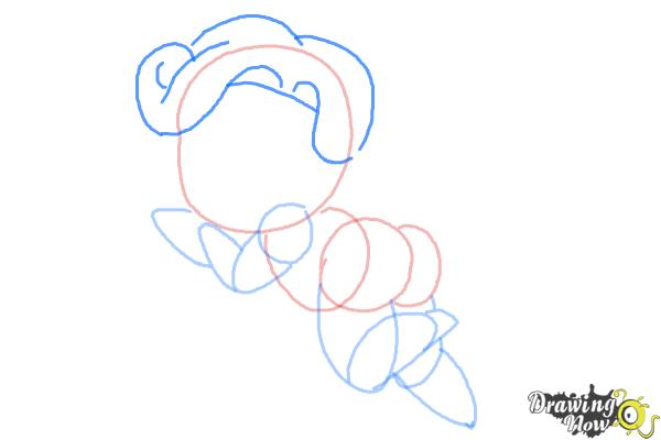 How to Draw Chibi Cupid - Step 6
