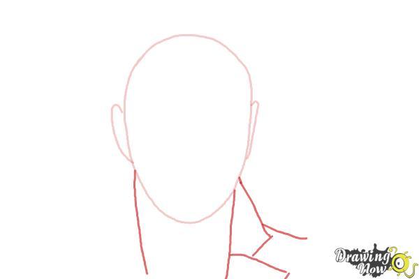 How to Draw Sam Smith - Step 2