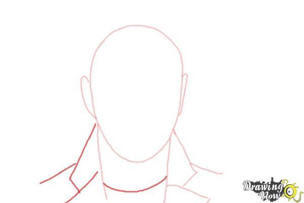 How to Draw Sam Smith - Step 3