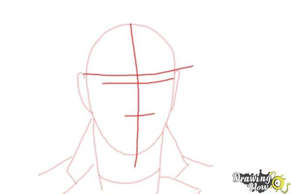 How to Draw Sam Smith - Step 4