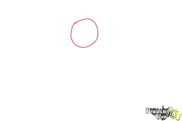 How to Draw Paddington Bear - Step 1