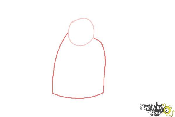 How to Draw Paddington Bear - Step 2