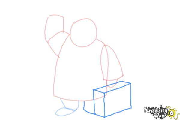 How to Draw Paddington Bear - Step 5