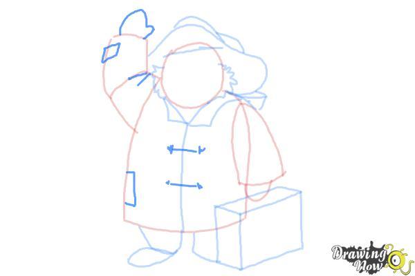 How to Draw Paddington Bear - Step 8