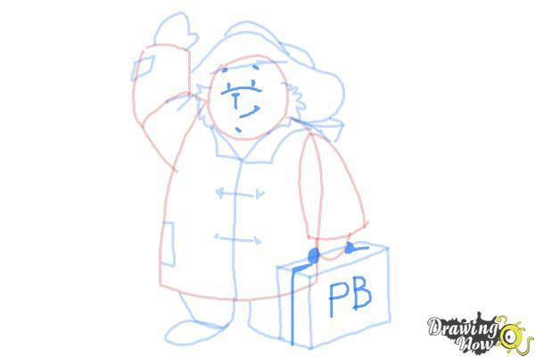 How to Draw Paddington Bear - Step 9