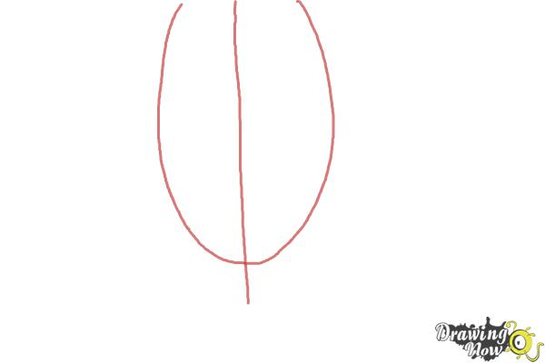 How to Draw Jared Leto - Step 1