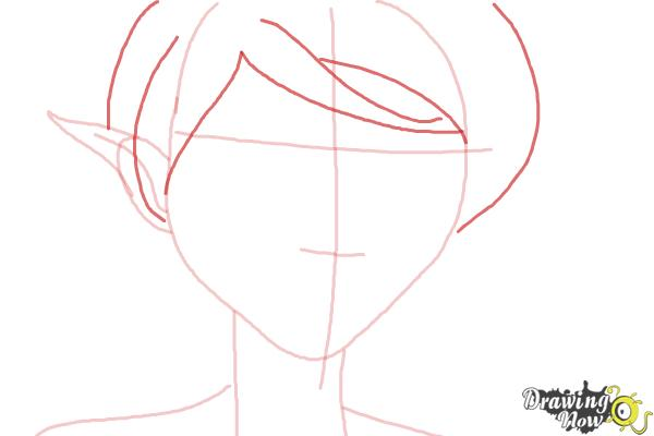 How to Draw Marianne from Strange Magic - Step 4