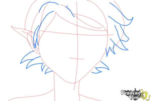 How to Draw Marianne from Strange Magic - Step 5