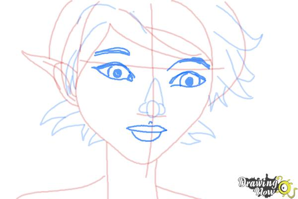 How to Draw Marianne from Strange Magic - Step 7