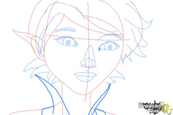 How to Draw Marianne from Strange Magic - Step 8