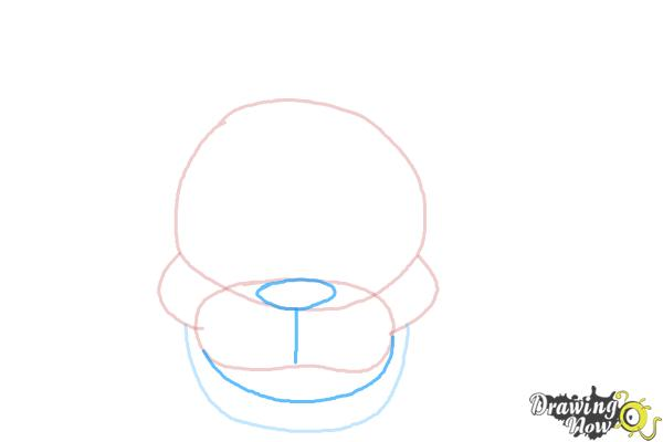 How to Draw Freddy Fazbear from Five Nights At Freddy'S - Step 4