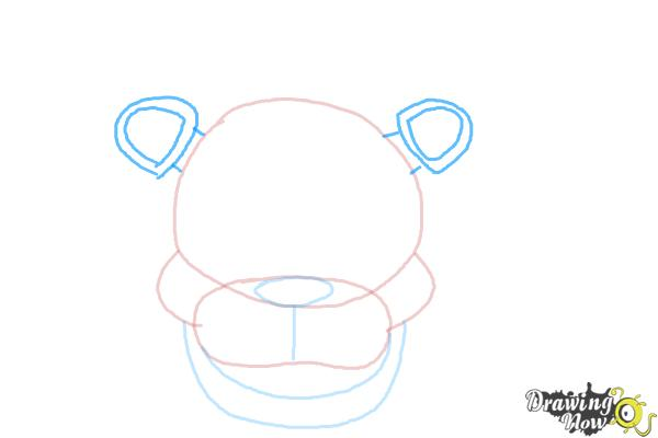 How to Draw Freddy Fazbear from Five Nights At Freddy'S - Step 5