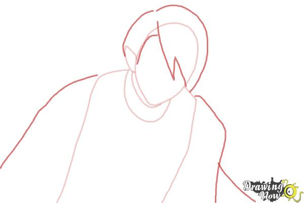 How to Draw Dantalion from Makai Ouji: Devils And Realist - Step 3