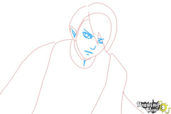 How to Draw Dantalion from Makai Ouji: Devils And Realist - Step 4