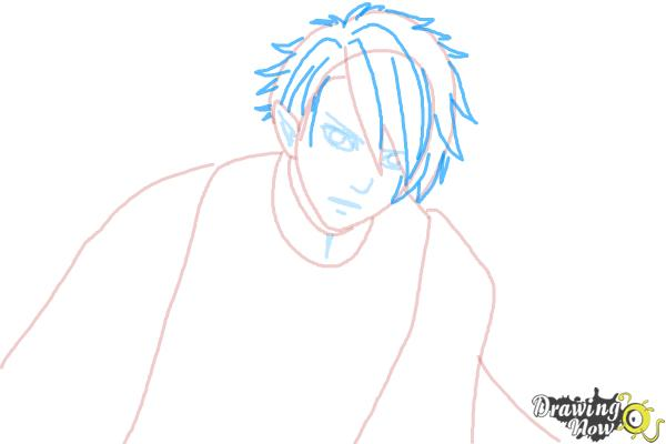 How to Draw Dantalion from Makai Ouji: Devils And Realist - Step 5
