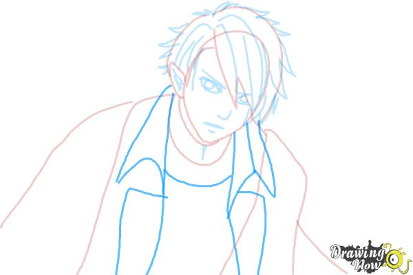 How to Draw Dantalion from Makai Ouji: Devils And Realist - Step 6