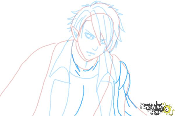 How to Draw Dantalion from Makai Ouji: Devils And Realist - Step 7