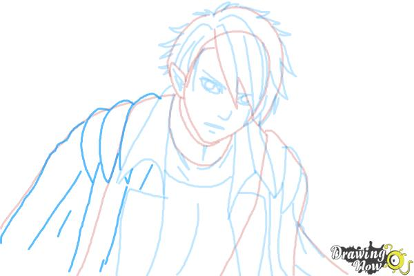 How to Draw Dantalion from Makai Ouji: Devils And Realist - Step 8