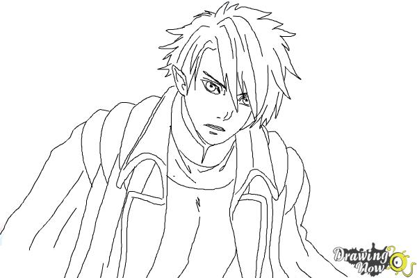 How to Draw Dantalion from Makai Ouji: Devils And Realist - Step 9