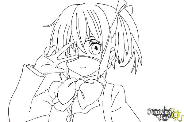 How To Draw Rikka Takanashi From Chuunibyou Demo Koi Ga