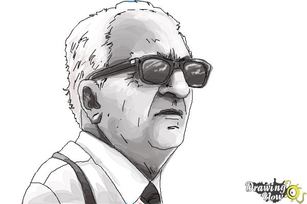 How to Draw an Enzo Ferrari - Step 11