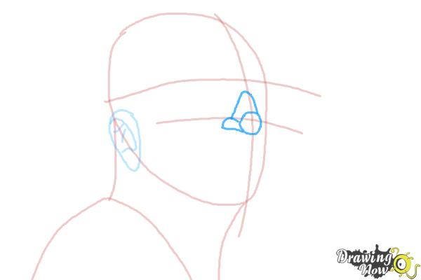 How to Draw an Enzo Ferrari - Step 4