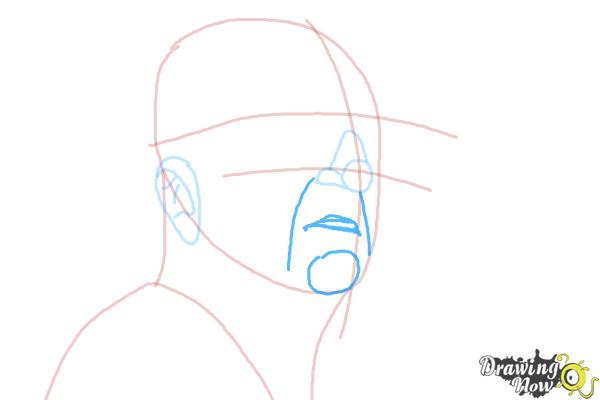 How to Draw an Enzo Ferrari - Step 5