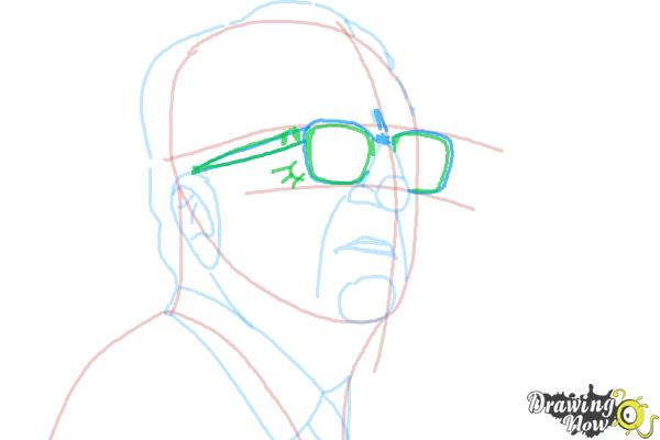 How to Draw an Enzo Ferrari - Step 8