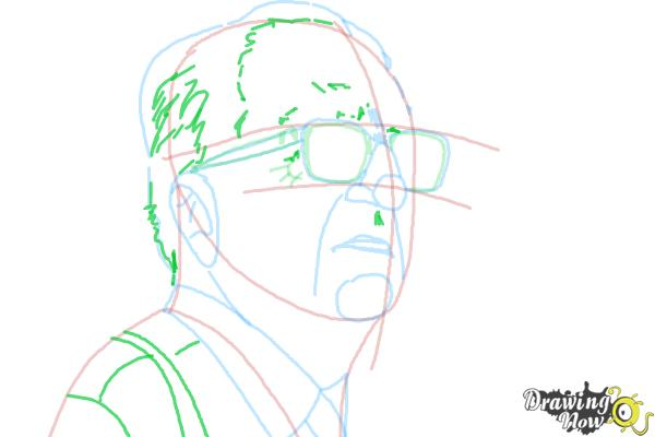 How to Draw an Enzo Ferrari - Step 9