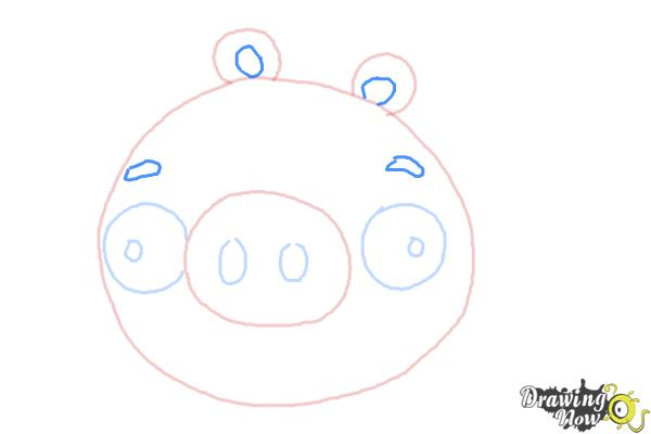 How To Draw Angry Birds Pig