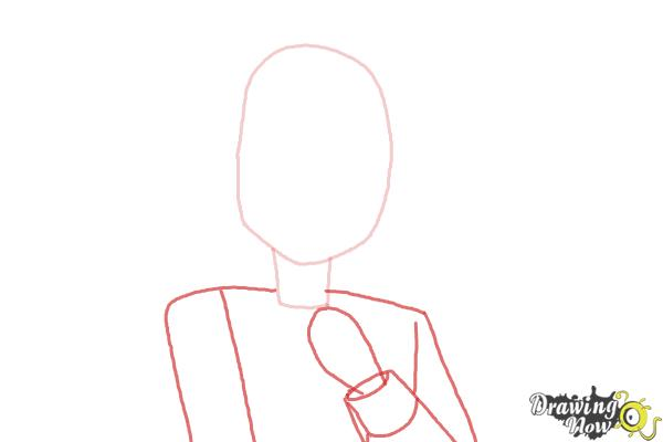 How to Draw Mayu Suzumoto from Corpse Party - Step 2